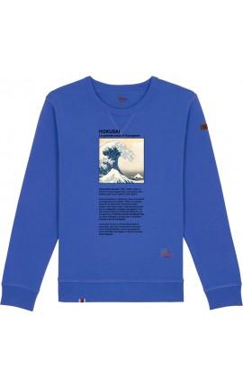 Hokusai Felpa Girocollo