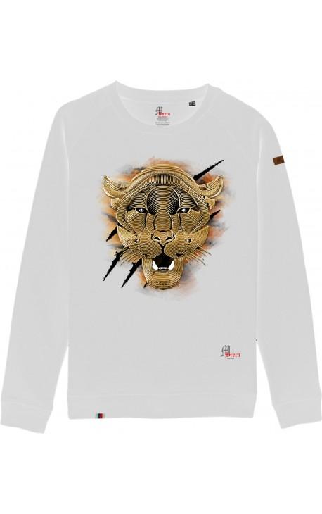 Tiger Felpa Girocollo