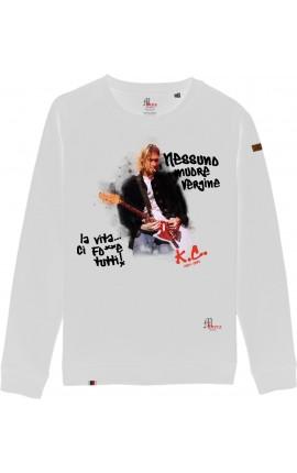 Kurt Cobain Felpa Girocollo